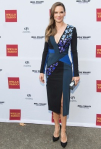 Actress Hilary Swank attends Opening Night of the 37th Annual Mill Valley Film Festival at the Art Club in Mill Valley