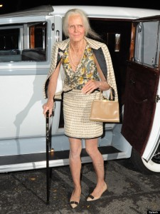 Heidi Klum gets old and feisty at her Heidi Klum 14th Annual Halloween Party in NYC