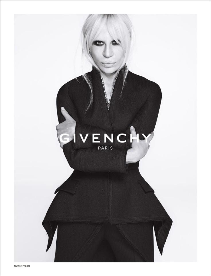 Donatella-Versace-Givenchy-2015-Ad-Campaign