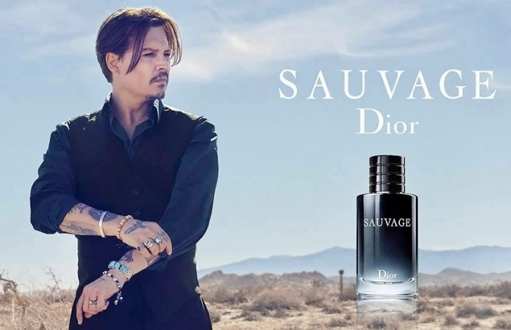 Johnny Depp X SAUVAGE