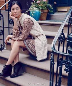 劉雯 X Esprit Fall 2015 Campaign-1