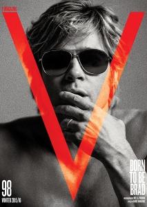 V Magazine Brad Pitt-1