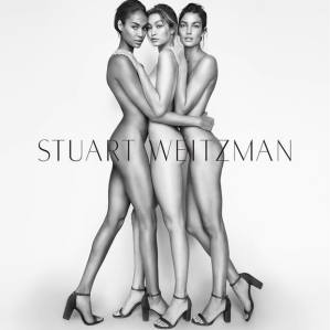 Gigi Hadid - Lily Aldridge - Joan Smalls X Stuart Weitzman Spring 2016 Campaign