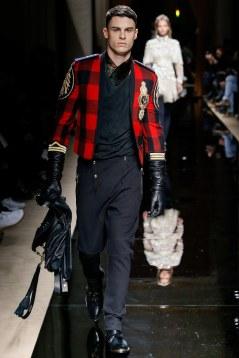 Balmain Fall 2016 Menswear Look 17