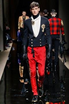 Balmain Fall 2016 Menswear Look 19