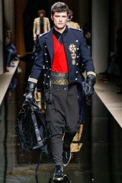Balmain Fall 2016 Menswear Look 2