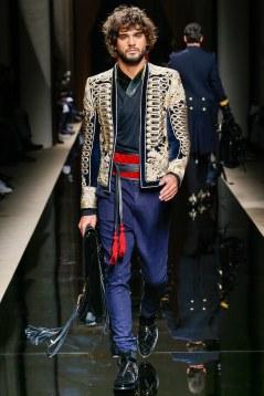 Balmain Fall 2016 Menswear Look 3