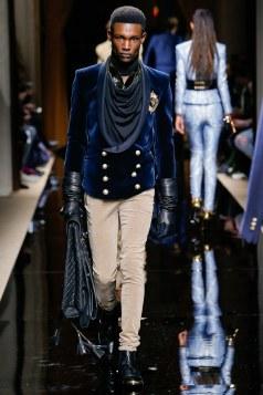Balmain Fall 2016 Menswear Look 33
