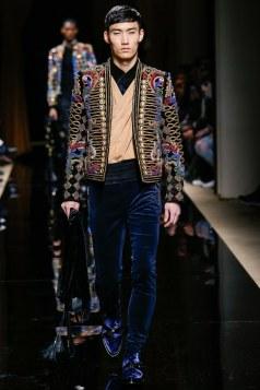 Balmain Fall 2016 Menswear Look 36