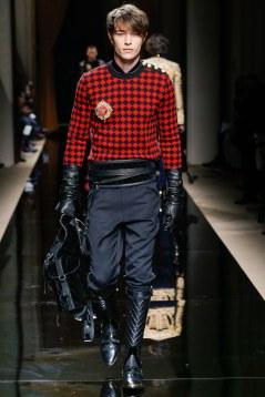 Balmain Fall 2016 Menswear Look 4