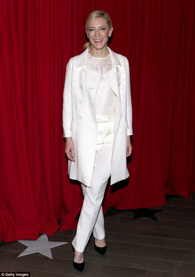 Cate Blanchett in John Galliano Spring 2016