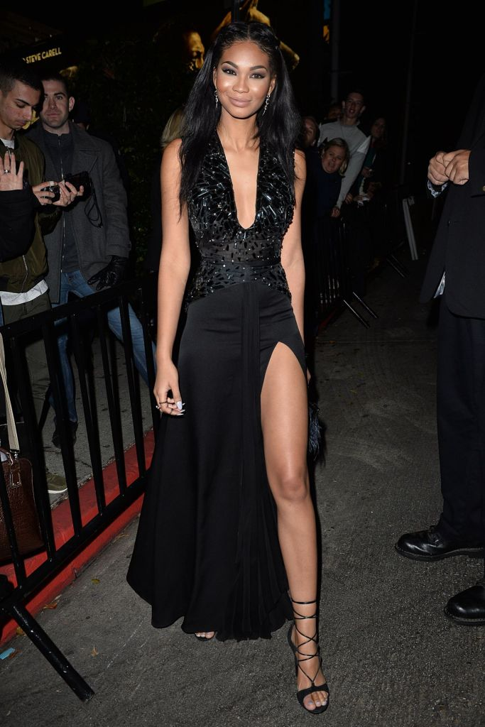 Chanel Iman Azzaro Fall 2014