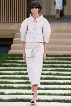 Chanel Spring 2016 Couture Look 1