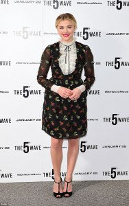 The 5th Wave London Premiere— Chloe Moretz -2016.1.22-