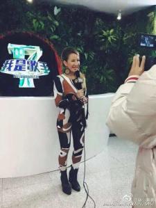 李玟 in Dior Fall 2015 -2016.1.15-