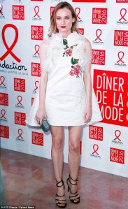 Diane Kruger in Giambattista Valli Spring 2016 Couture -2016.1.30-