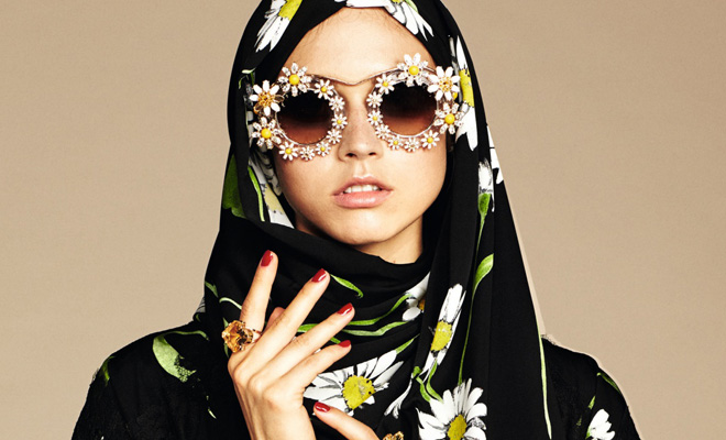 Dolce & Gabbana Abaya Collection-1