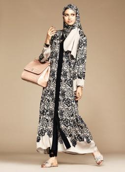 Dolce & Gabbana Abaya Collection-10