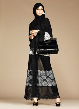 Dolce & Gabbana Abaya Collection-11