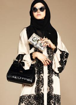 Dolce & Gabbana Abaya Collection-12