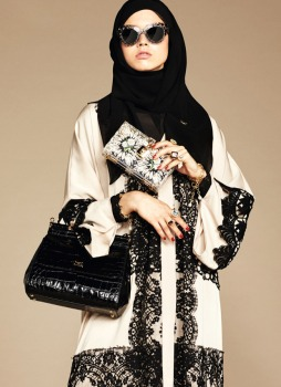 Dolce & Gabbana Abaya Collection-12