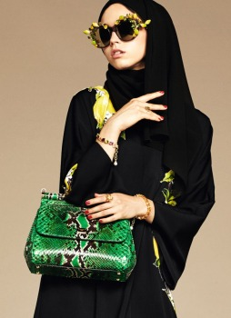 Dolce & Gabbana Abaya Collection-13