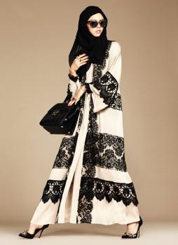 Dolce & Gabbana Abaya Collection-14