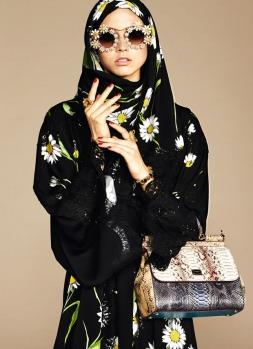 Dolce & Gabbana Abaya Collection-16