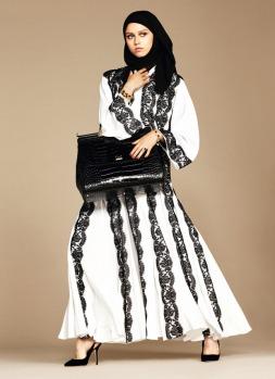 Dolce & Gabbana Abaya Collection-17