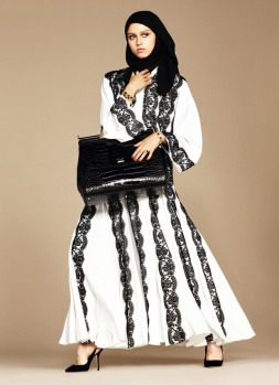Dolce & Gabbana Abaya Collection-17