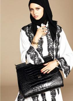 Dolce & Gabbana Abaya Collection-18