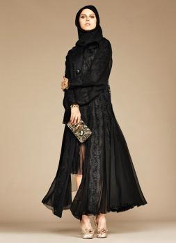 Dolce & Gabbana Abaya Collection-19