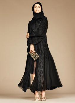 Dolce & Gabbana Abaya Collection-19