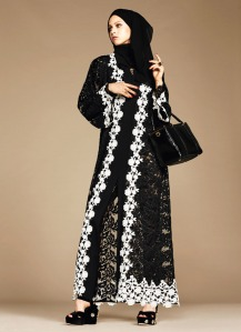 Dolce & Gabbana Abaya Collection-2