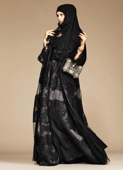 Dolce & Gabbana Abaya Collection-20