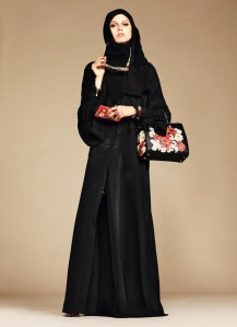 Dolce & Gabbana Abaya Collection-4