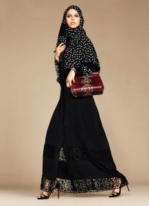Dolce & Gabbana Abaya Collection-6