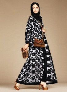 Dolce & Gabbana Abaya Collection-7