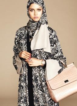 Dolce & Gabbana Abaya Collection-9