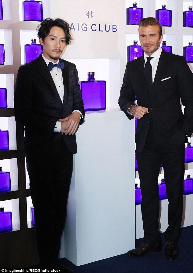 張震 & David Beckham