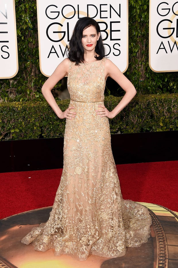 Eva Green in Elie Saab Fall 2015 Couture