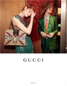 Gucci Spring 2016 Campaign -2016.1.3-