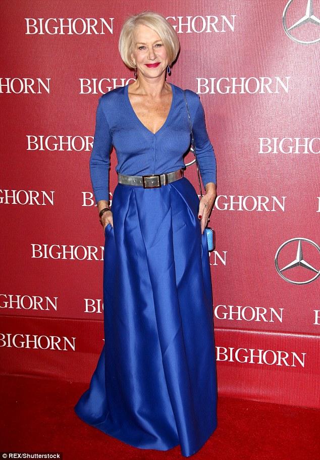 Helen Mirren in Alberta Ferretti