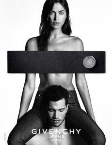 Irina Shayk X Givenchy Jeans Spring 2016 Campaign -2016.1.22-