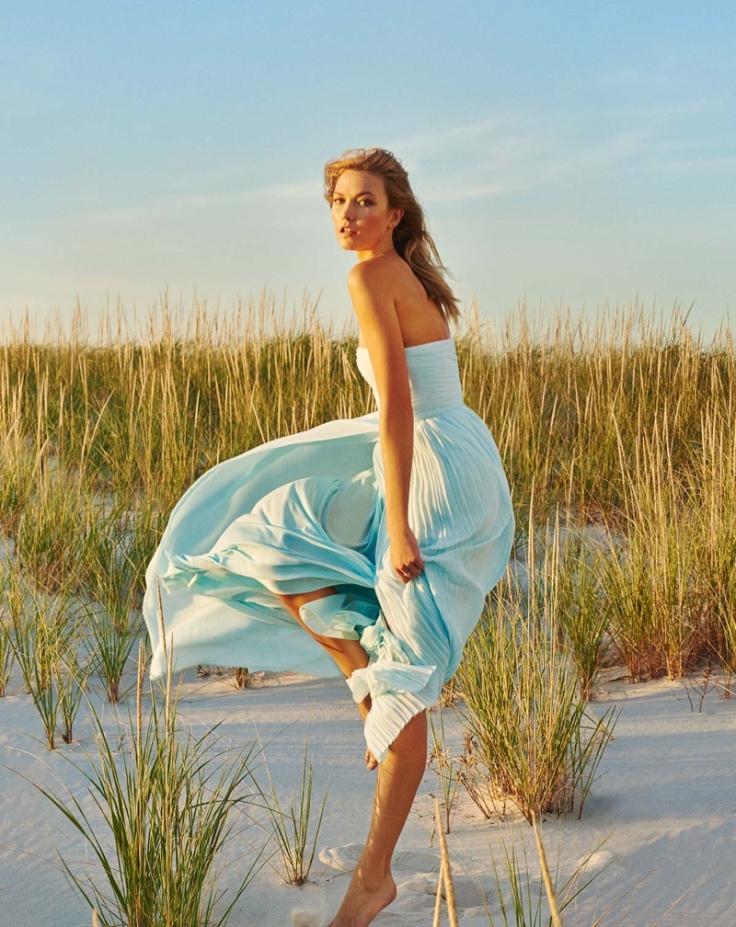Karlie Kloss Marella Spring 2016 Campaign