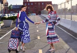 Mica Arganaraz & Lineisy Montero X Chanel Spring 2016 Campaign -2016.1.5-