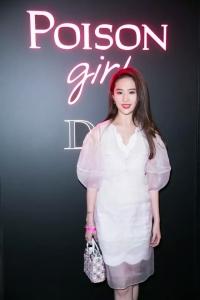 劉亦菲 in Christian Dior Spring 2016 -2016.1.27-