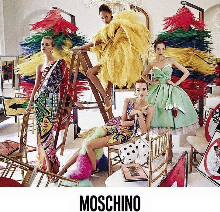 Moschino Spring Summer 2016 campaign