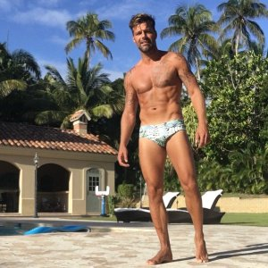 Ricky Martin on Vacation -2016.1.5-