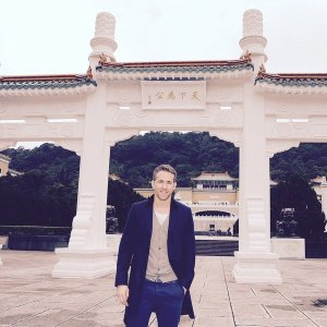 Ryan Reynolds in Taiwan -2016.1.21-